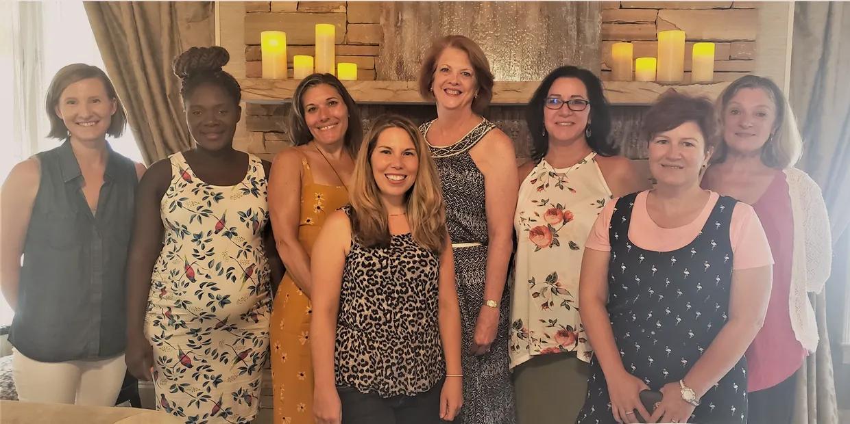 Our registered dietitians (left to right): Joy Holway, Johane Filemon, Julie Newton, Briana Johnson, Rebecca Casey, Suzan Jackovatz, Jamie Borghardt, and Nancy Lake.
